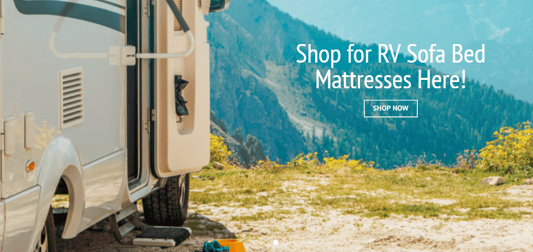 Shop for RV sofa bed mattresses here!